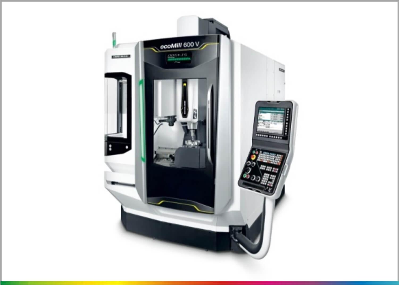 czarna maszyna frezujaca eco mill 600 v