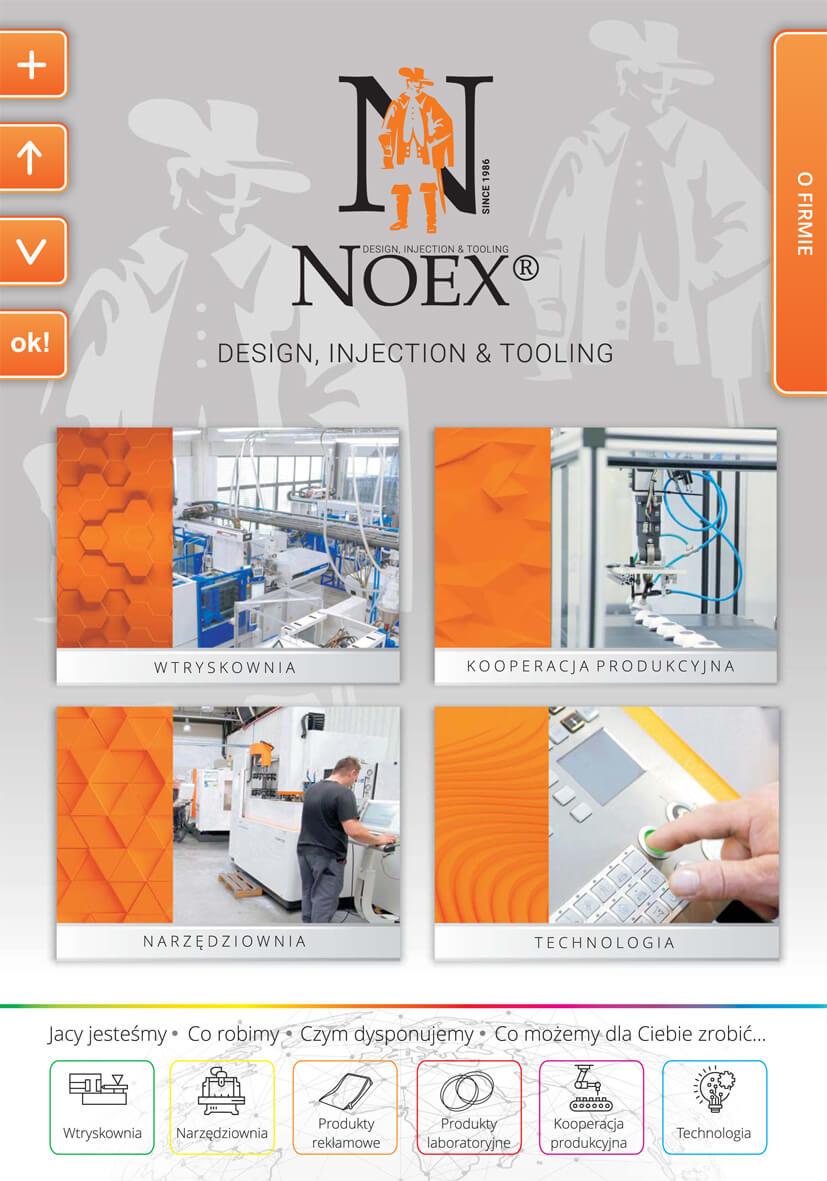 O firmie Noex