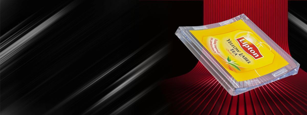 żółta podstawka wydawcza lipton - katalog produktów banner