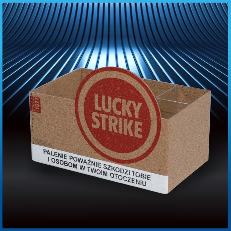 kartonowy segregator lucky strike pos 10