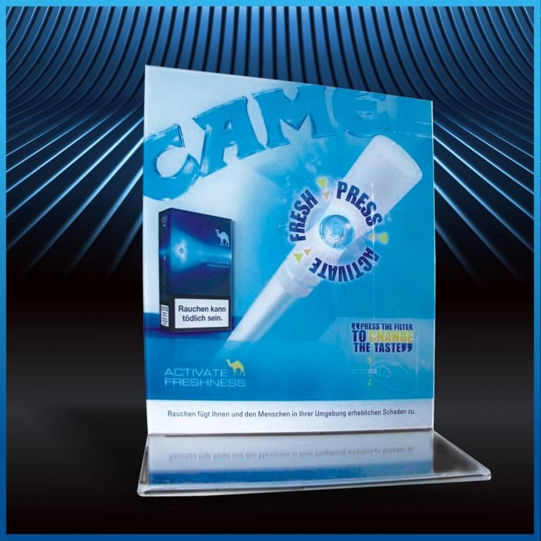 plastikowa podstawka reklamowa pos 5